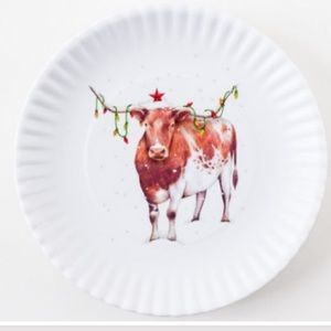 Other - Christmas Longhorn Plates
